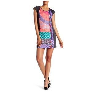 Desigual Sauve cap sleeve dress